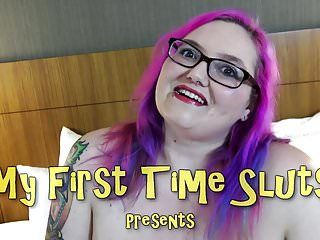 Bbw sara stars 1st group-sex
