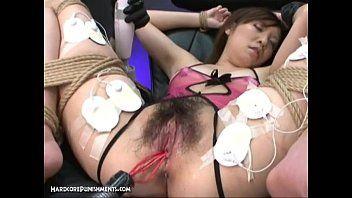 日本的性爱-y美pt的古怪的施虐受虐狂折磨。13