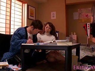 Breasty hitomi tanaka gets a creamy spunk fountain