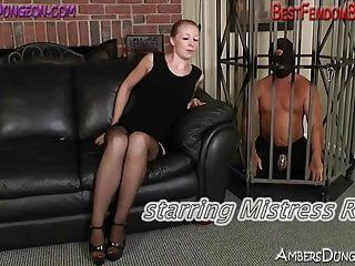 That babe face sits then frees from chastity after a-hole pumping