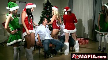 Christmas sex party - amarna miller, blanche bradburry, tricia legal age teenager